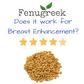 fenugreek breast enhancement