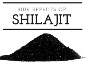 shilajit side effects