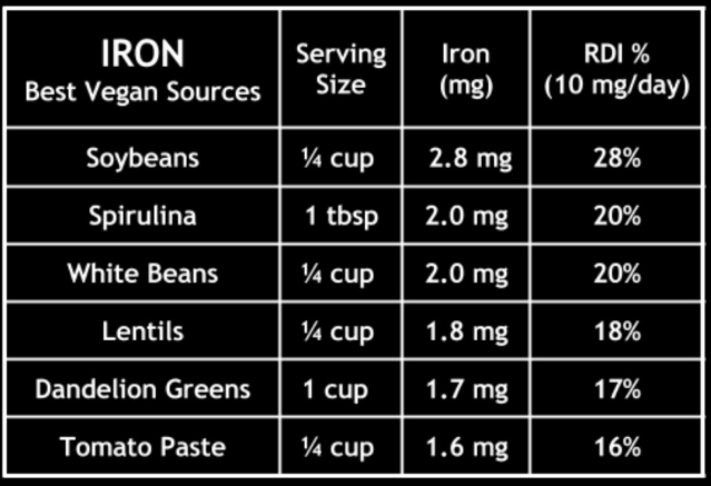Natural Iron Supplement