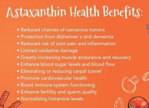 benefits of astaxanthin
