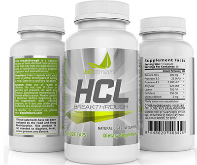 hydrochloric acid supplement